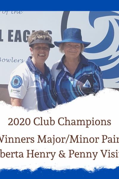 2020 Womens Major / Minor Pairs