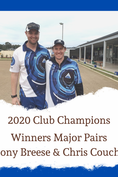 Men's Major Pairs 2020