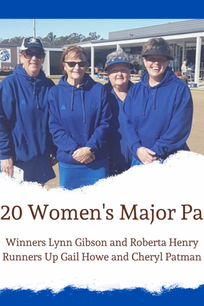 Women's Major Pairs 2020